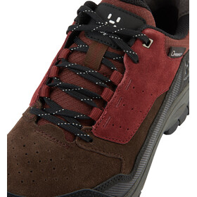 Haglöfs Skuta Low Proof Eco Zapatillas Mujer, maroon red/barque